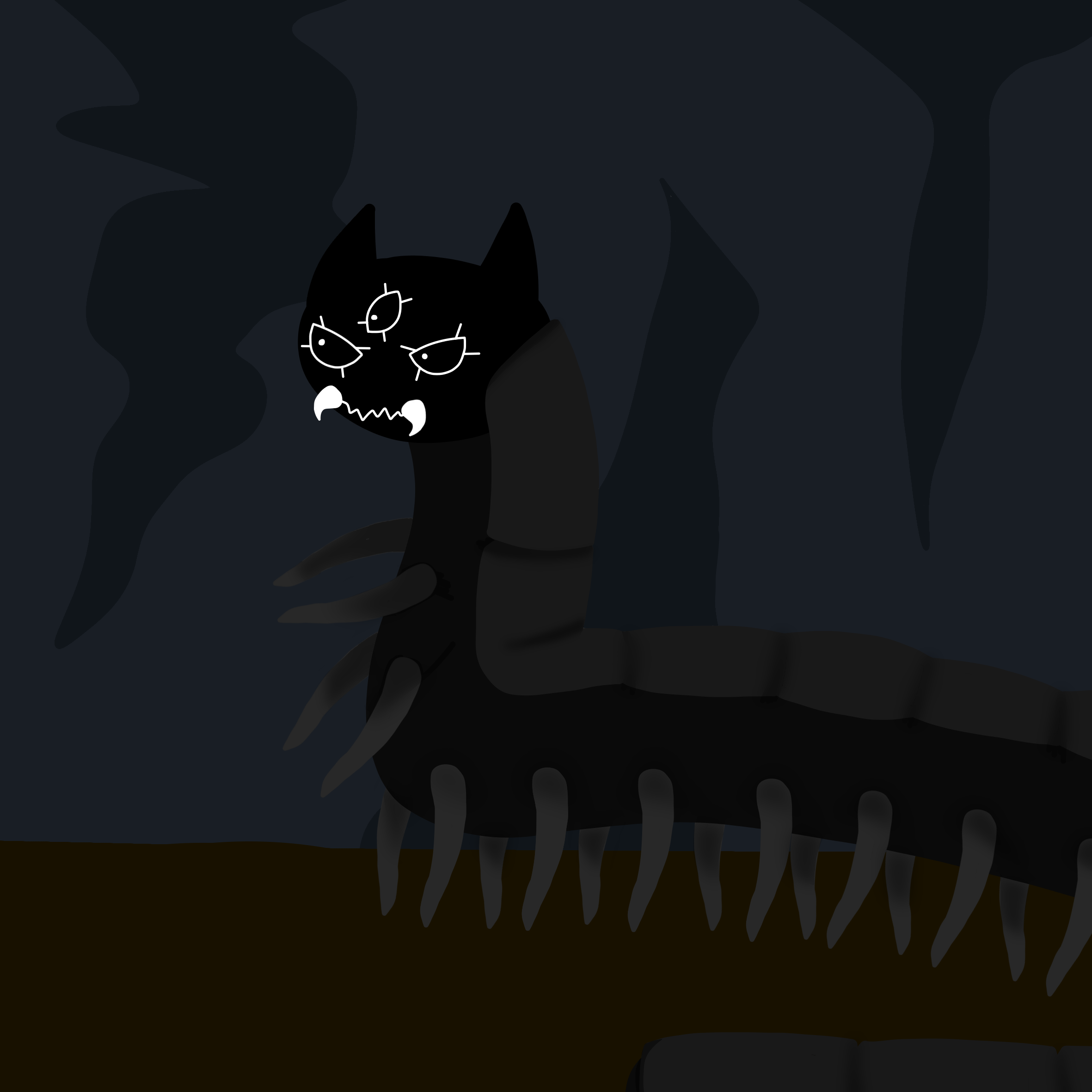Centicat, the abomination i made