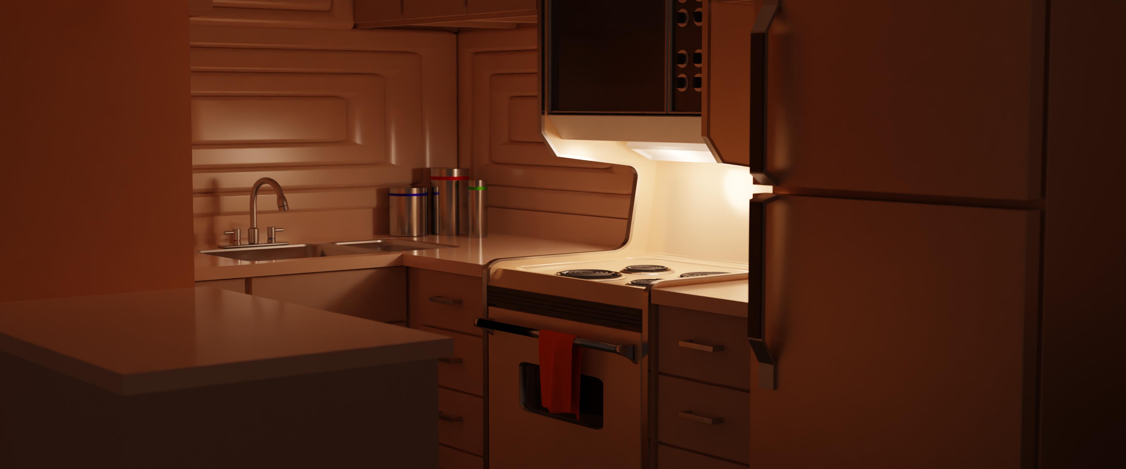 Martian Kitchen