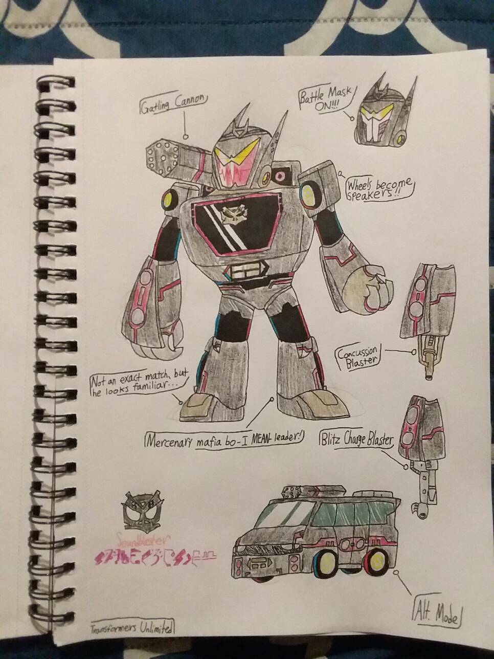 Transformers Unlimited: Soundblaster