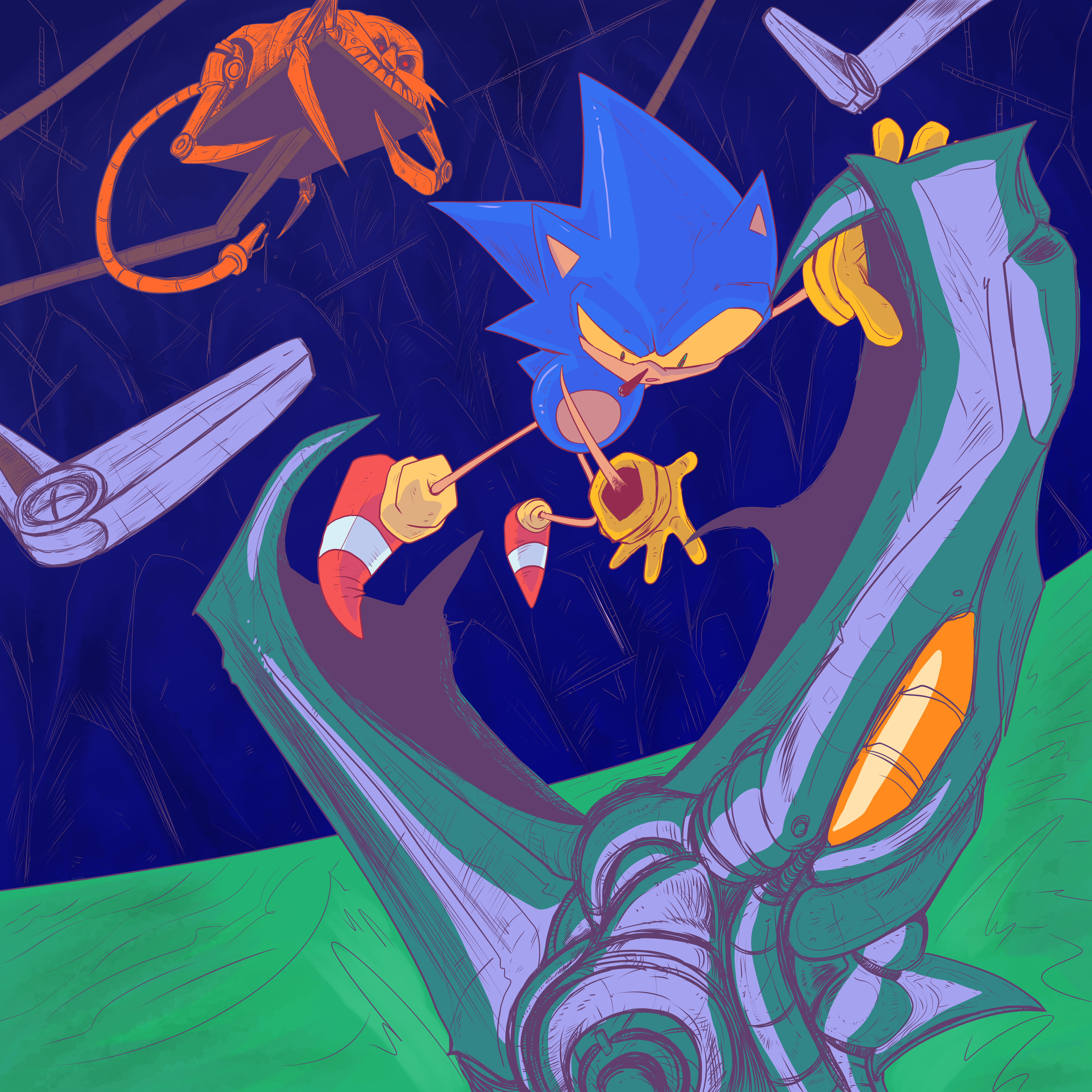 Sonic Spin Ball