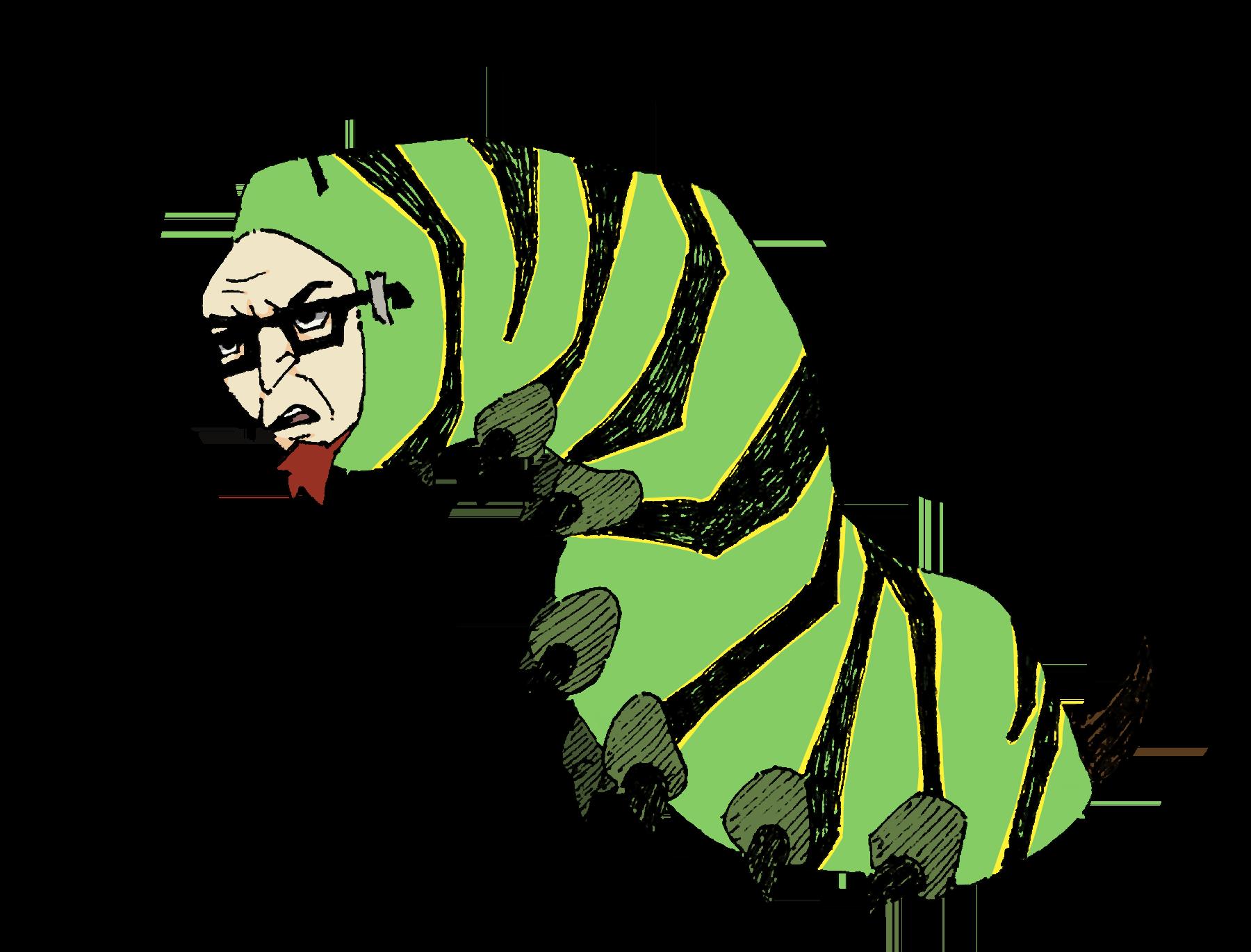 dumbass caterpillar