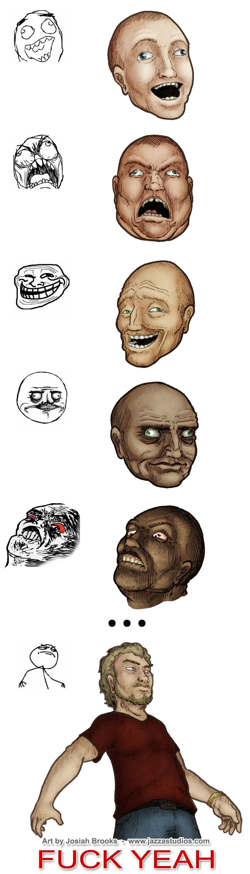Rage Faces in HD