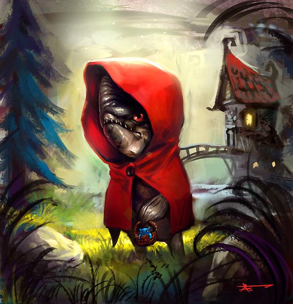 Little Red Riding Hood Piranh