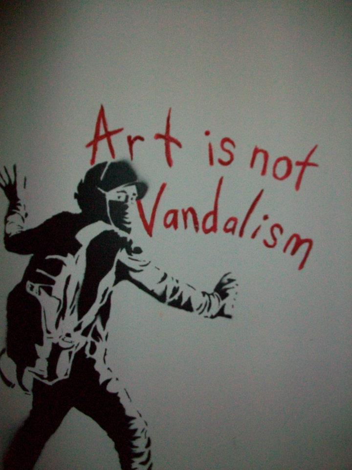 Art is not Vandalism