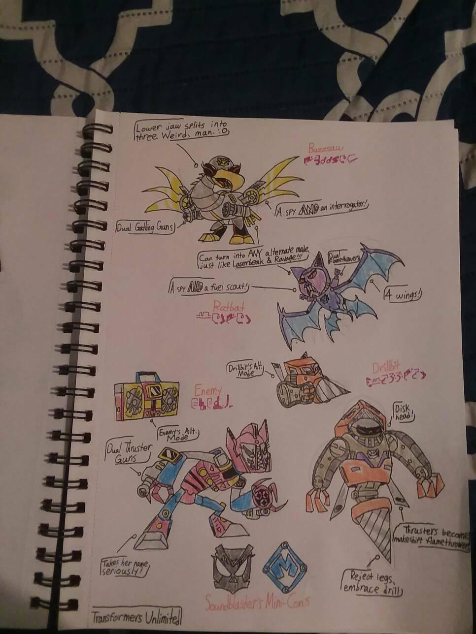 Transformers Unlimited: Soundblaster's Mini-Cons