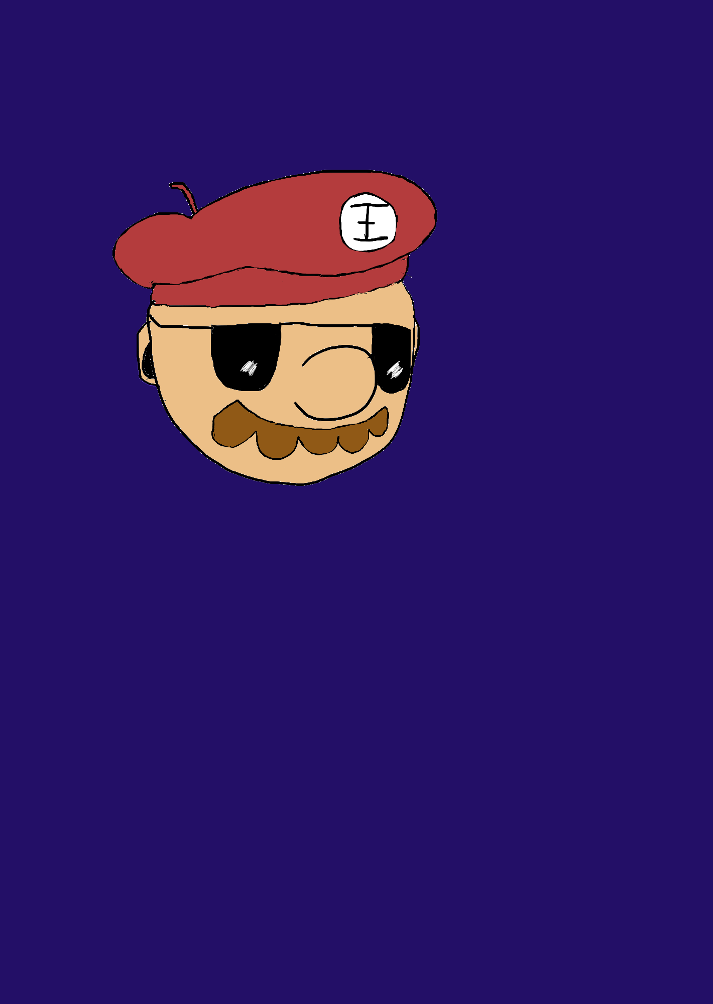 """""""Paint Mario"""" with Shades"""