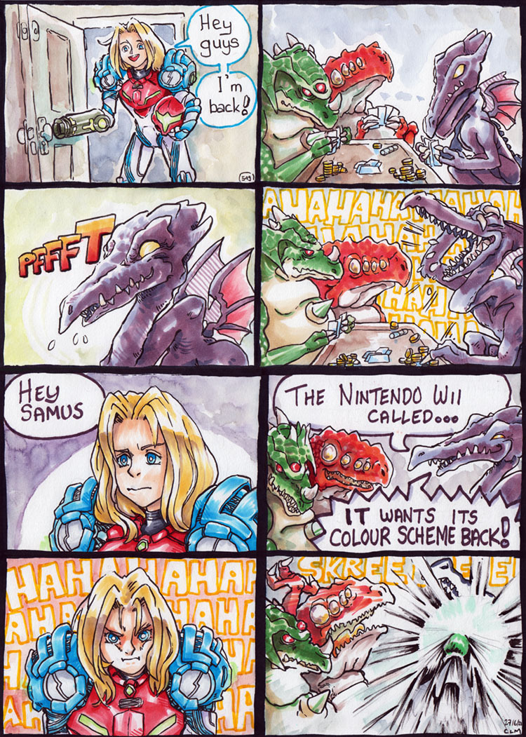 Ridley is a bully