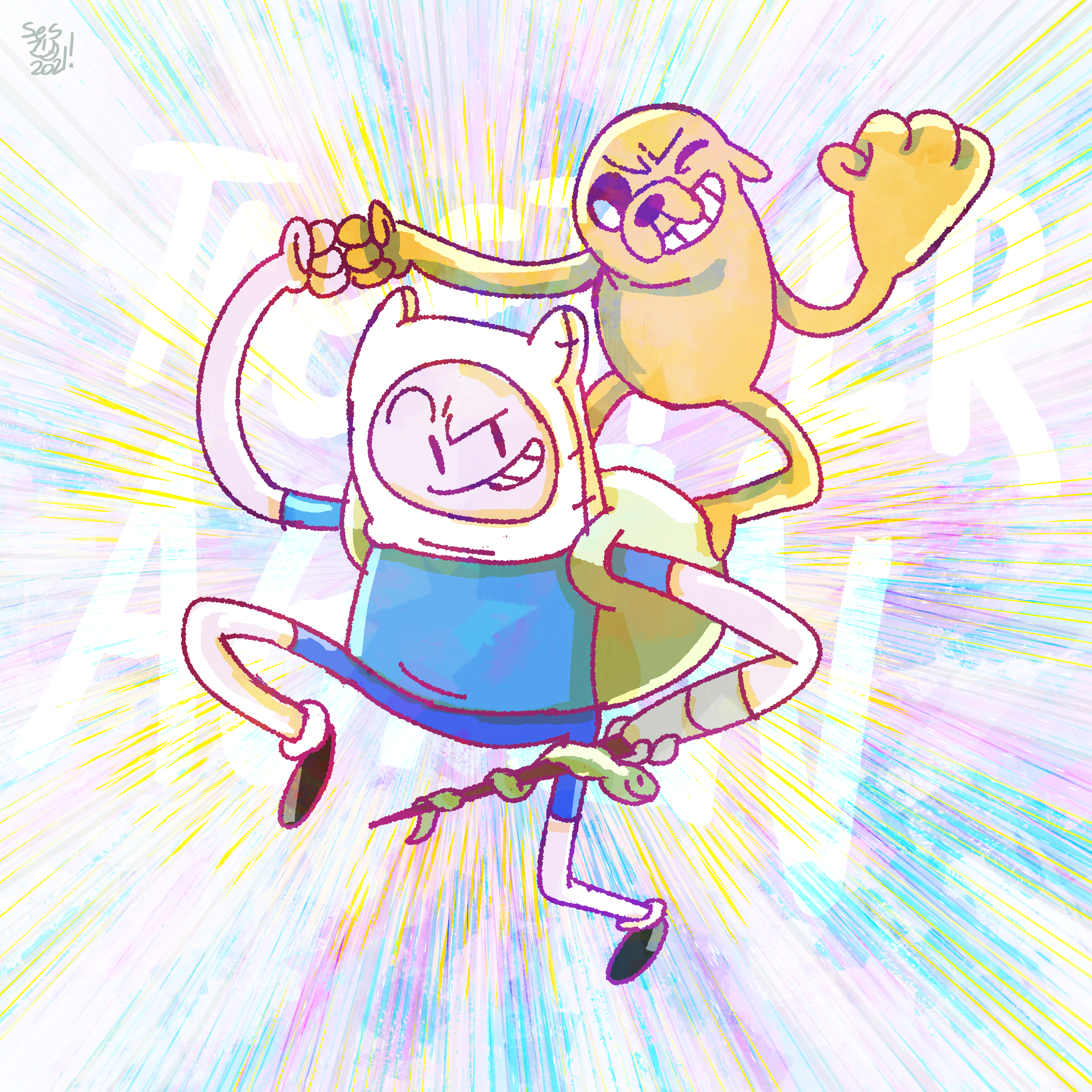 FINN AND JAKE ARE TOGETHER AGAIN