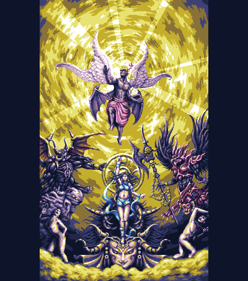 Kefka and the Warring Triad