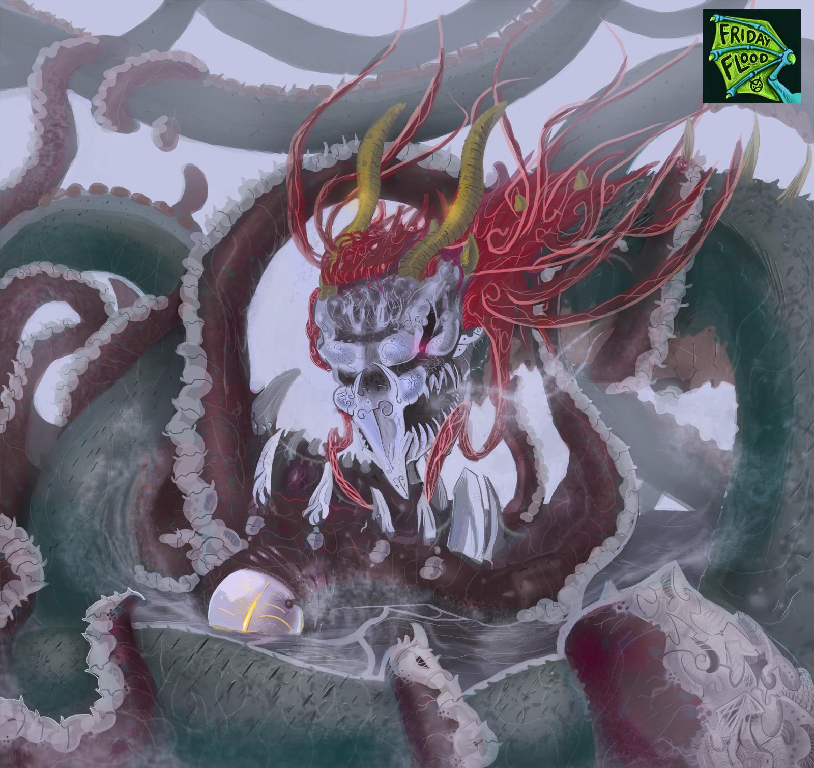 Dragon vs Kraken