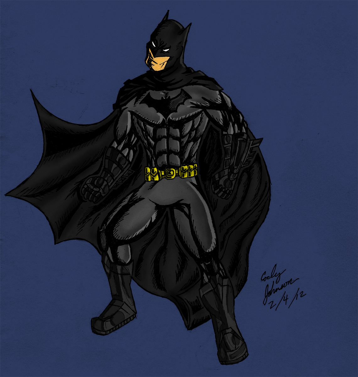 Batman - Colored