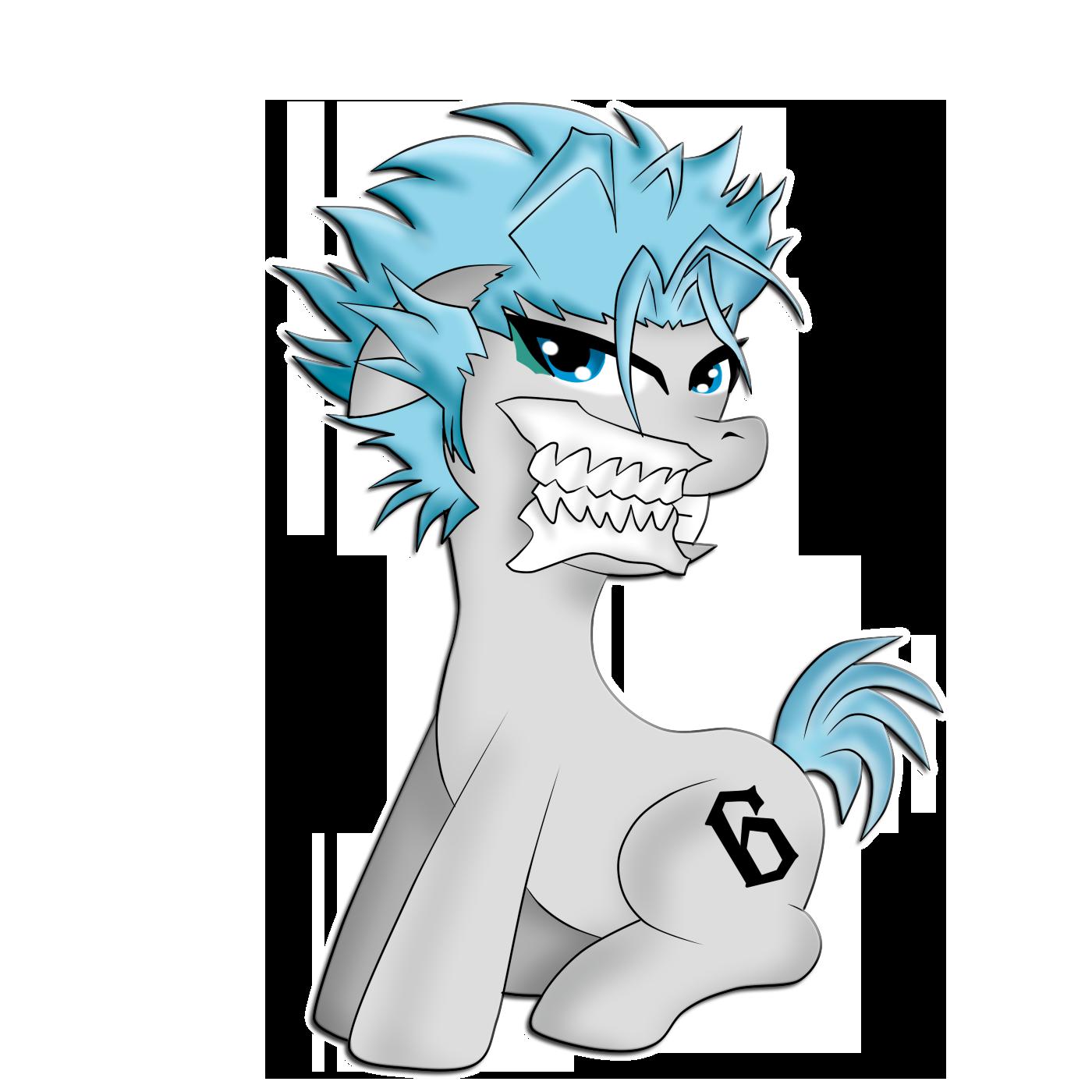 art request: pony grimmjow
