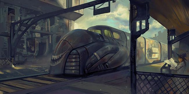 Inbound train