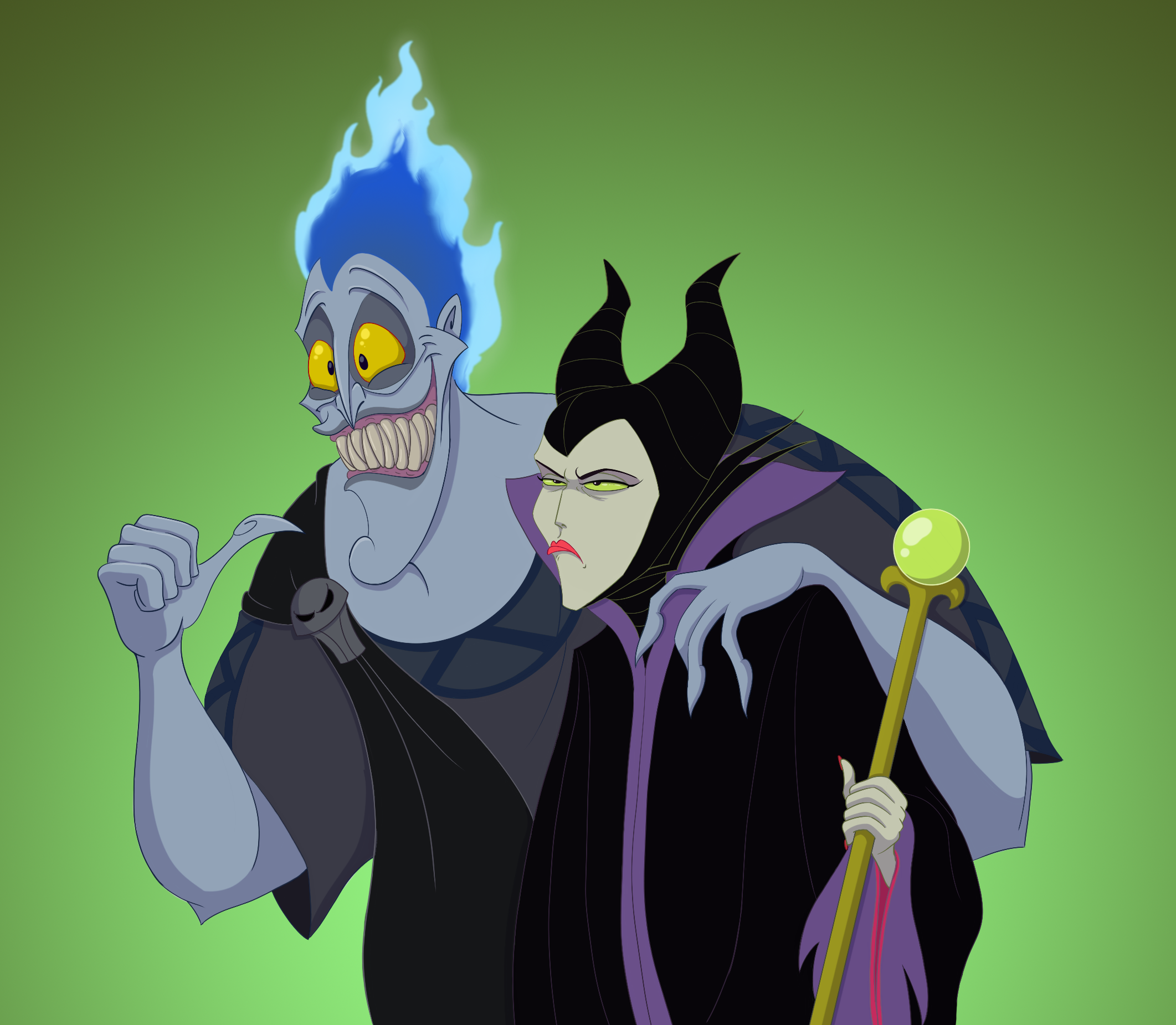 The Evil Power Couple