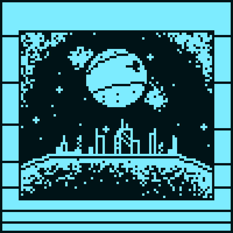 Spacey Cityscape