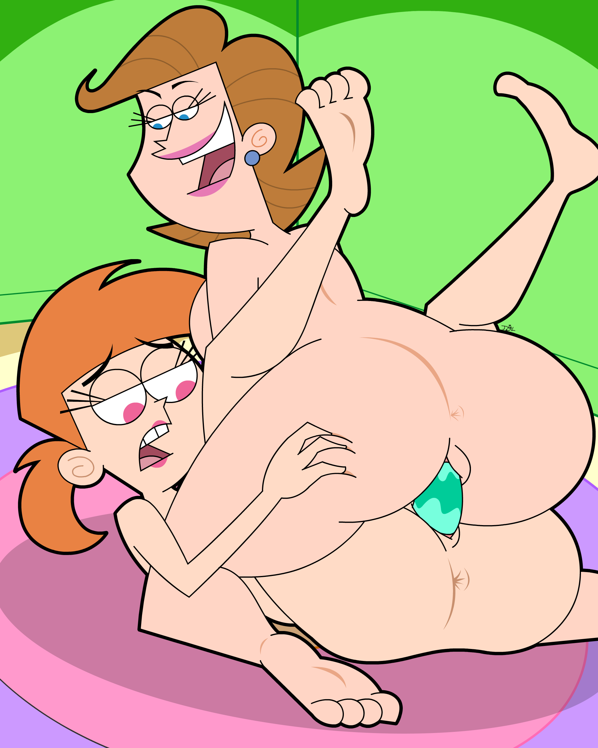 Vicky and Mrs. Turner Double Dose