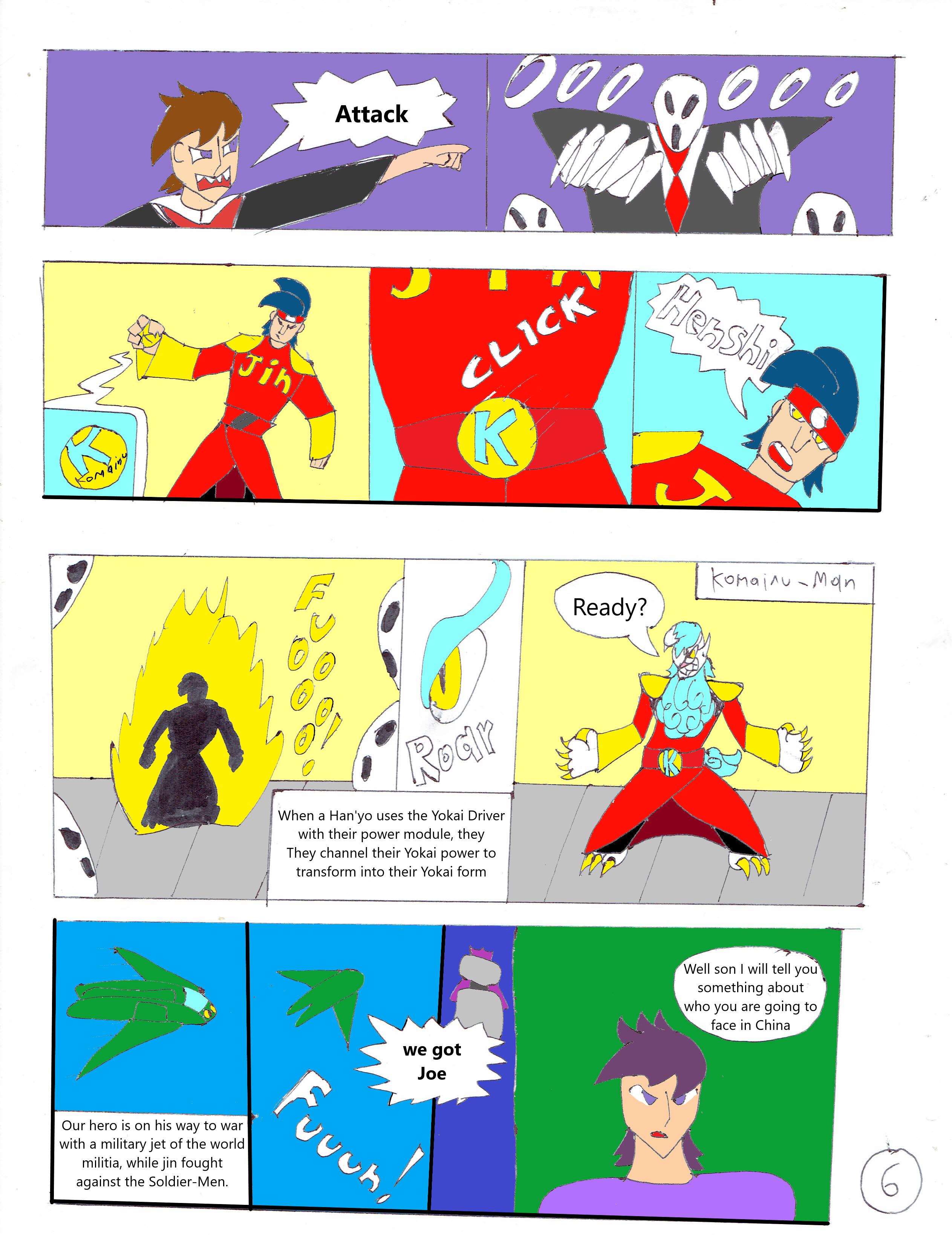 KyubiMan Chapter 1 part 2