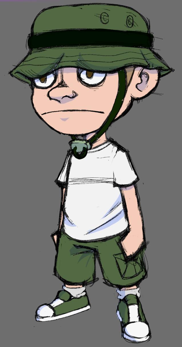 J.D the Boonie Hat Kid