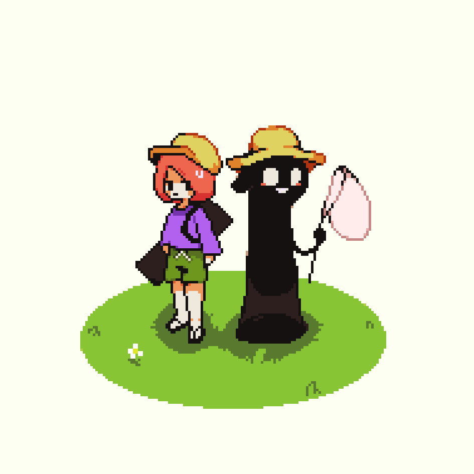going bug catching