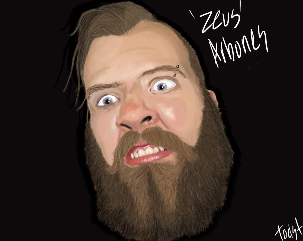 Zeus 'The Beard' Arbones