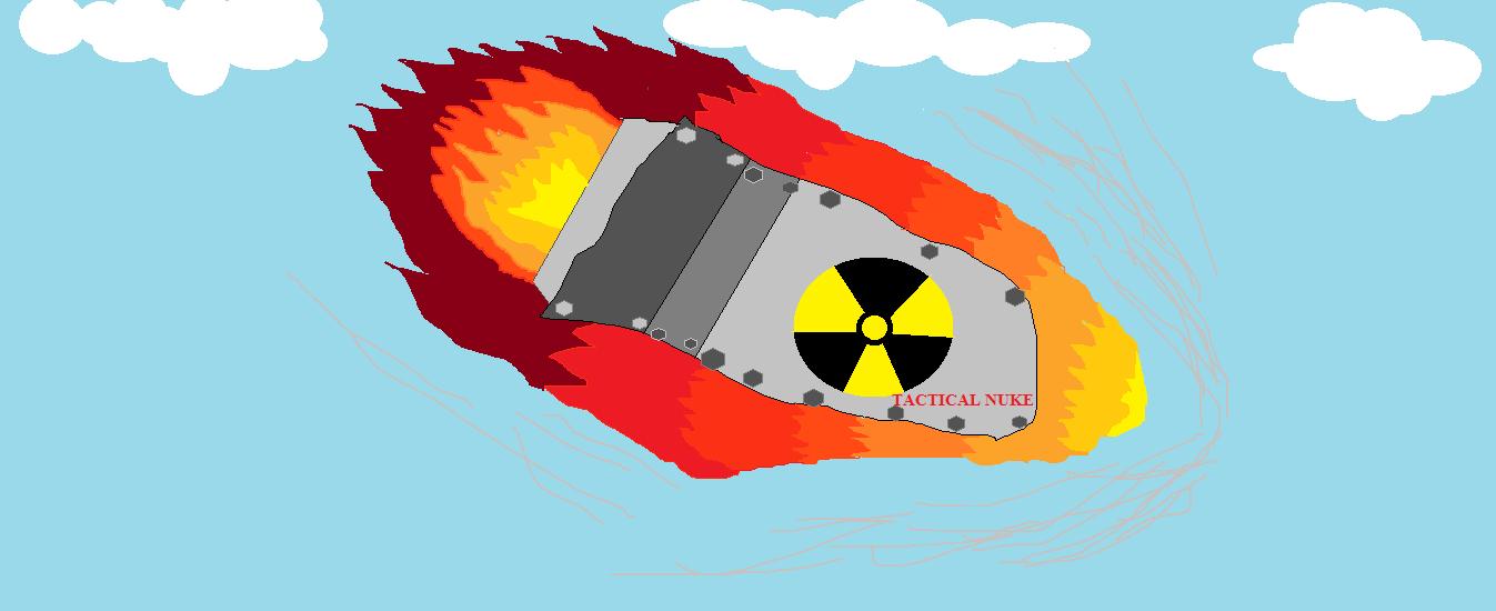 Tactical nuke Inbound