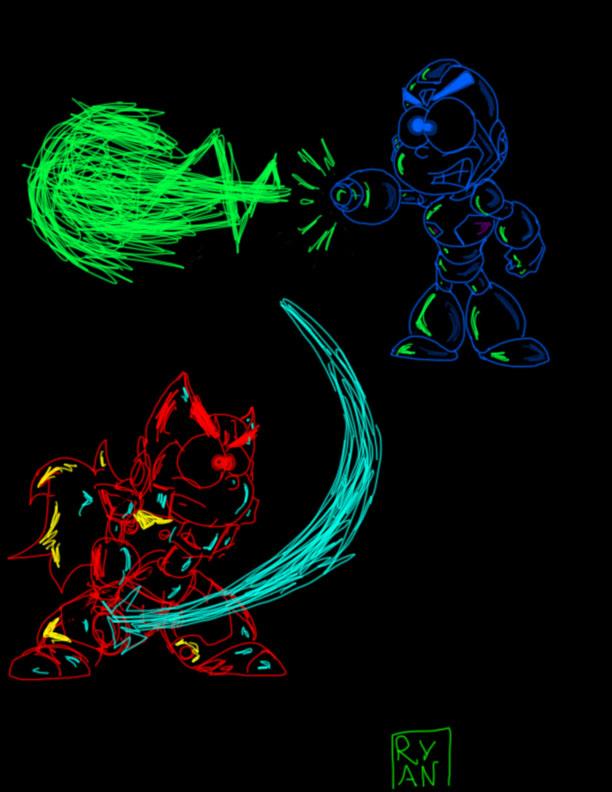 Neon Megaman X
