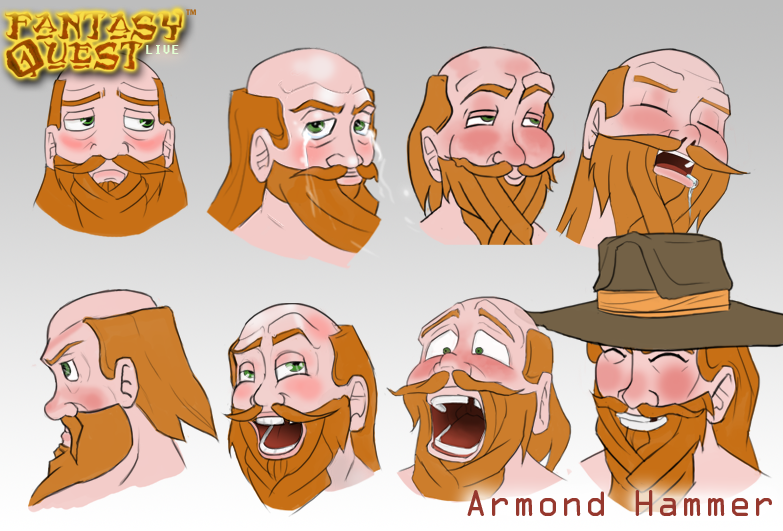 Armond Hammer Expressions