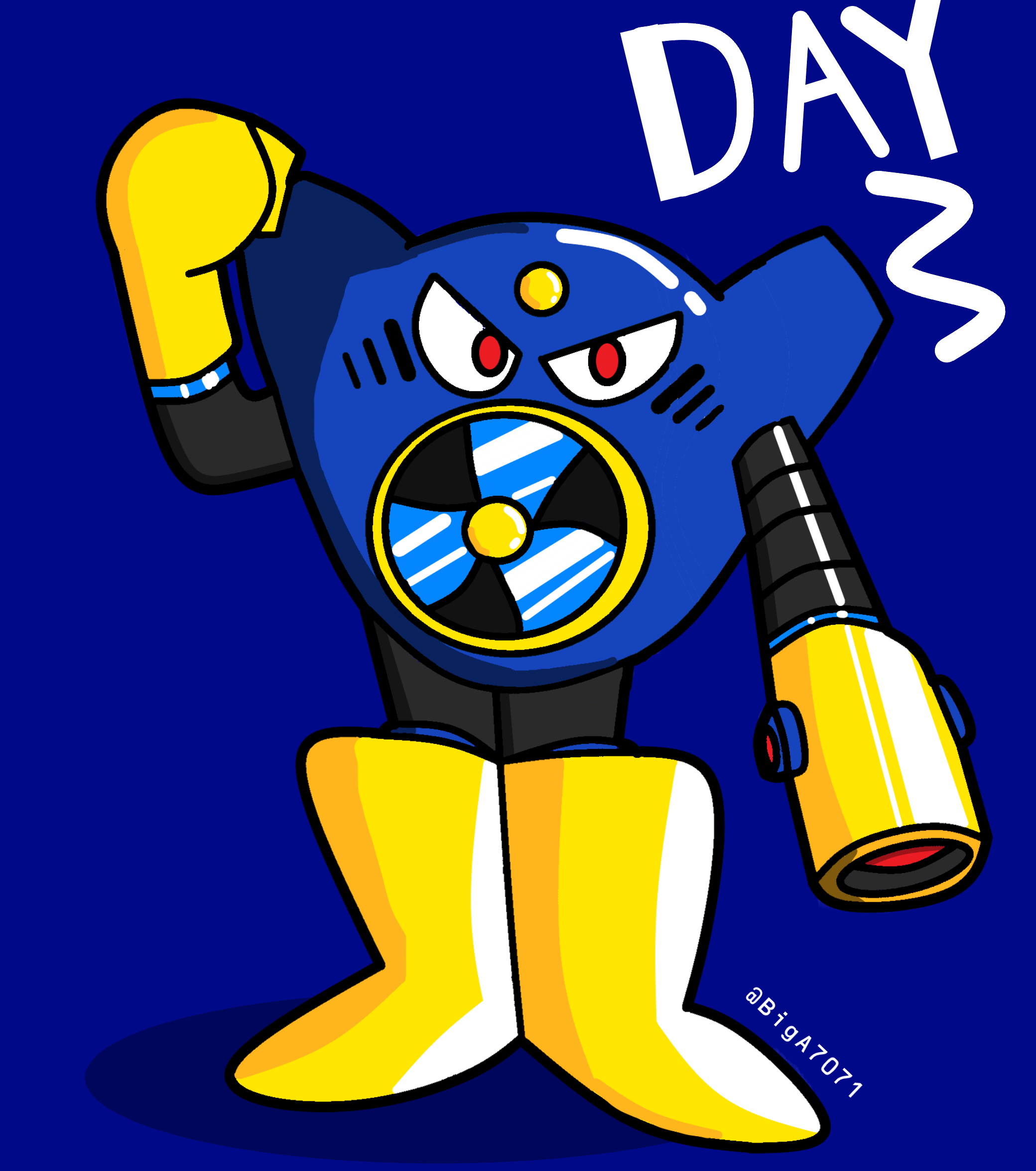 MegaMonth- Day 3: Air Man