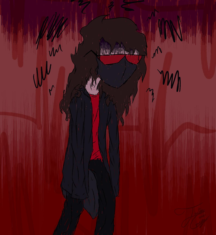 Grumpy artist