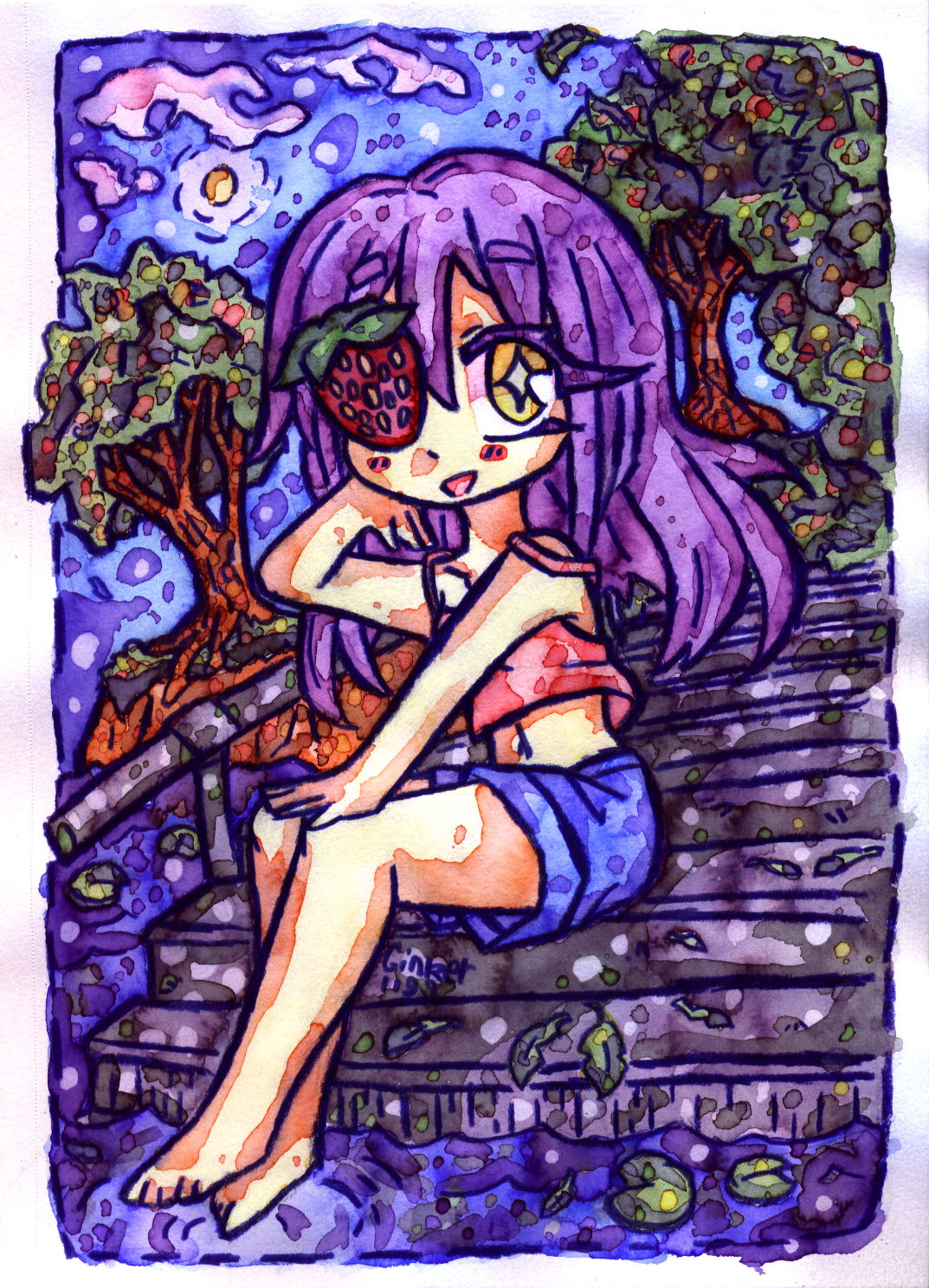 ATK 01 | Strawberry girl Amandy