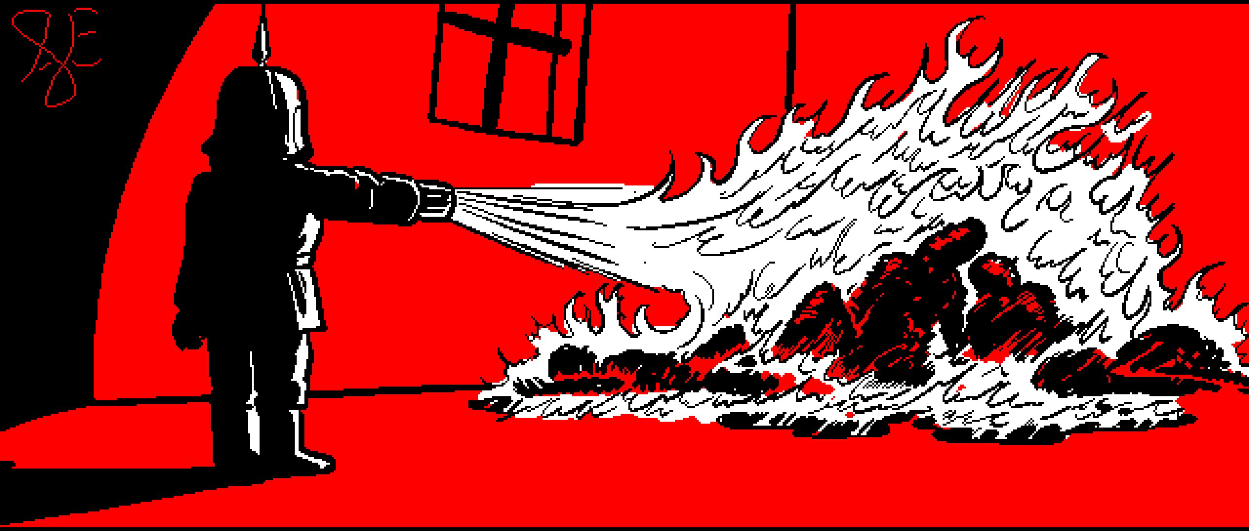 Torch the pyromaniac puppet