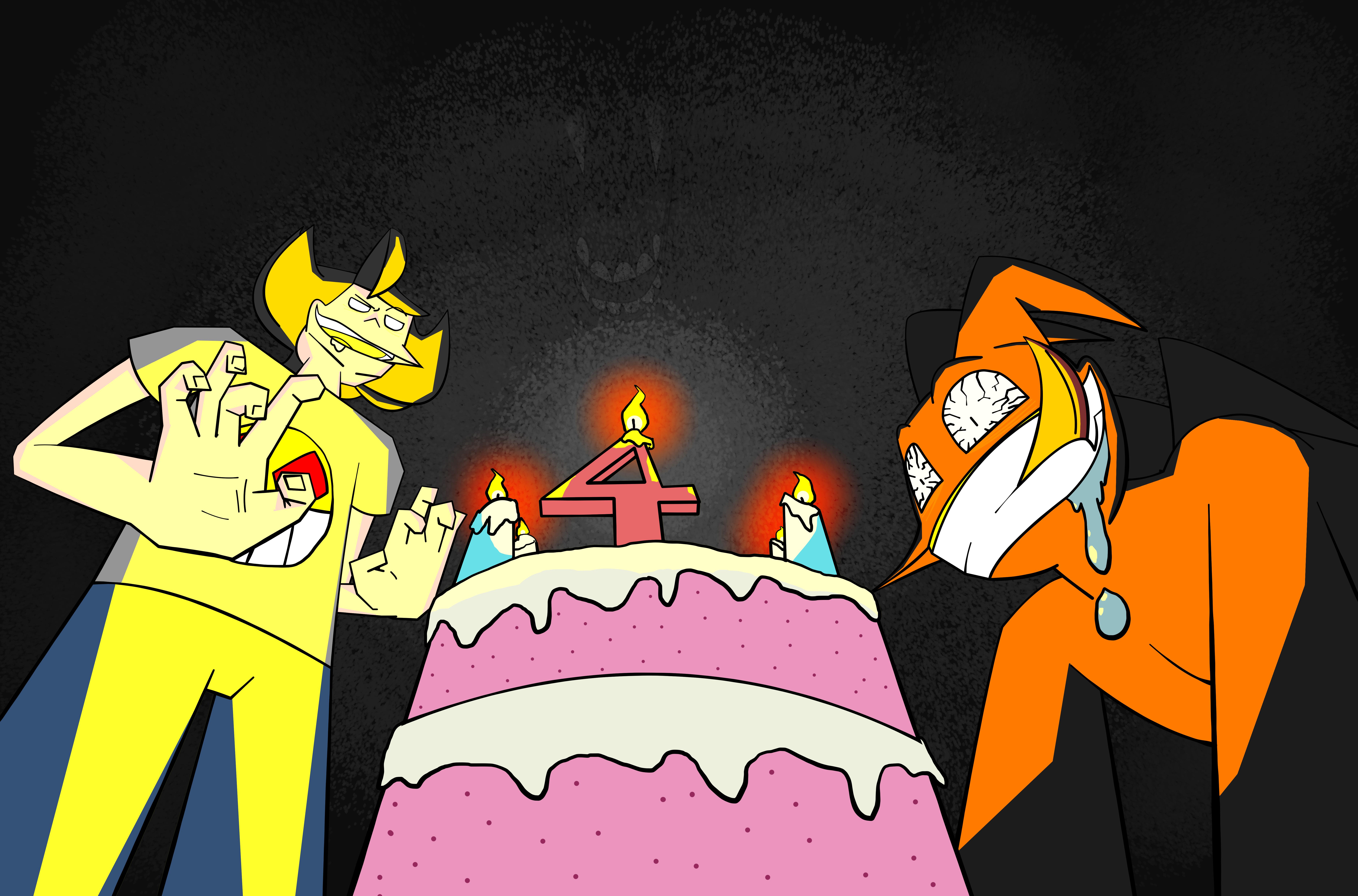 HAPPY BIRTHDAY ED AND ZAL!!