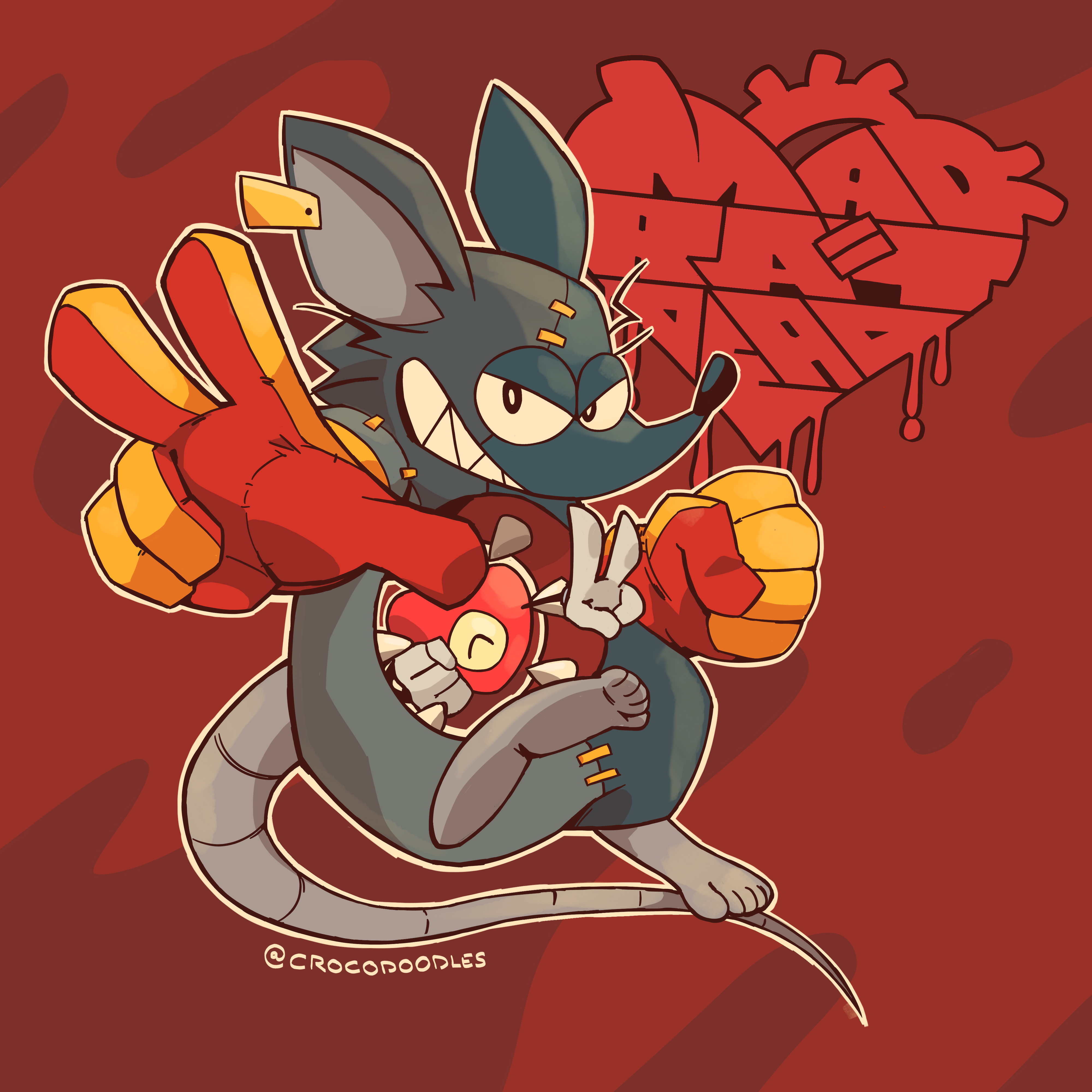 Mad Rat and his Heart