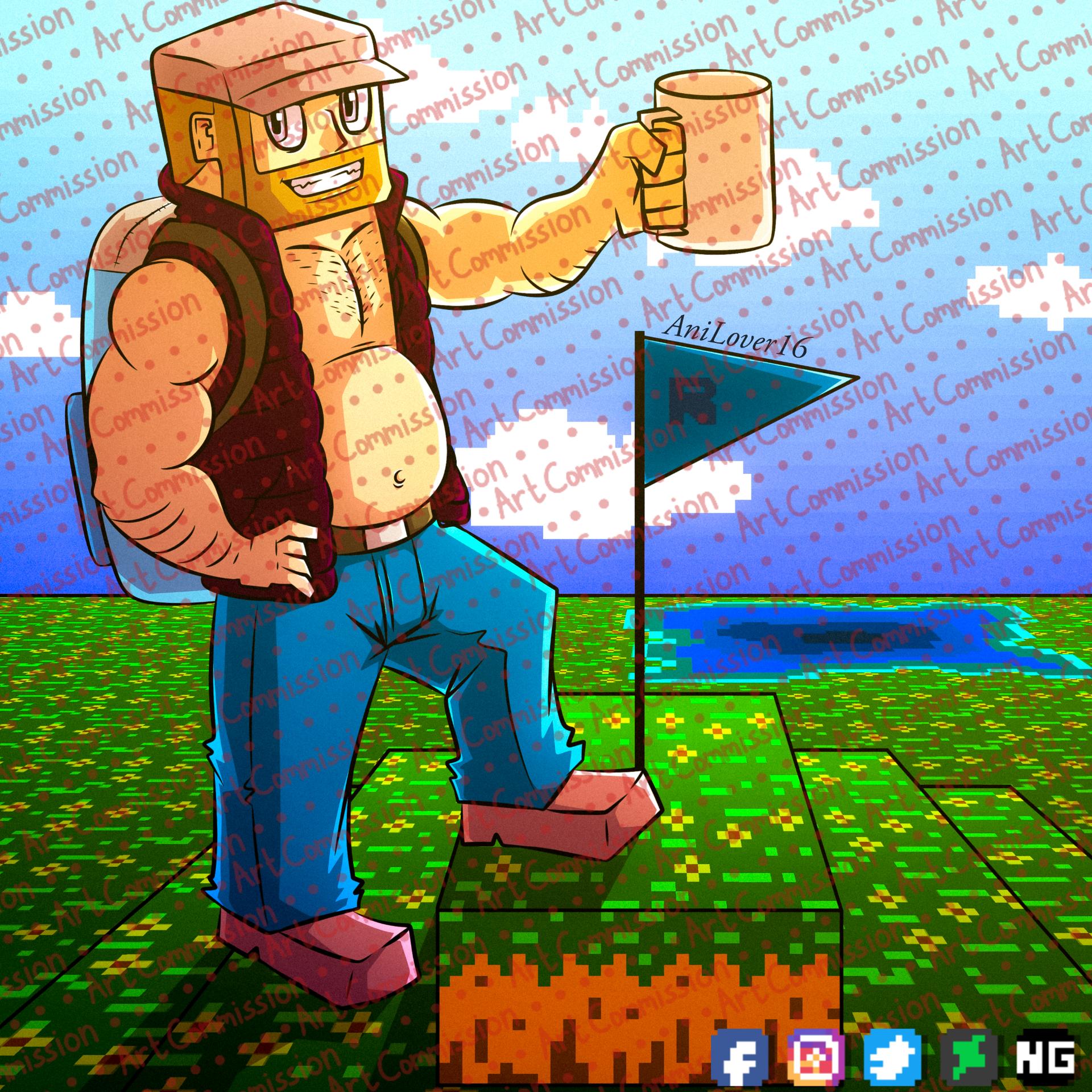 Art Commission July 2021 #1 - MinecraftArchitect90
