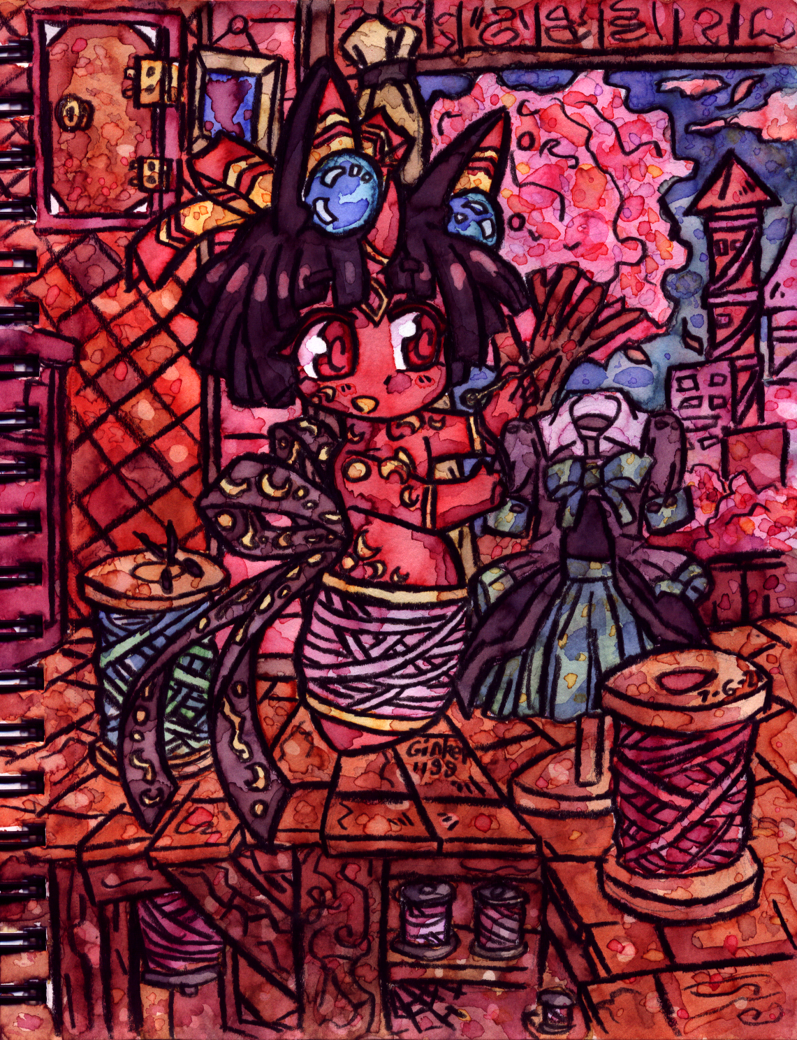 Guild Prompt 1/3   Mila's sewing project