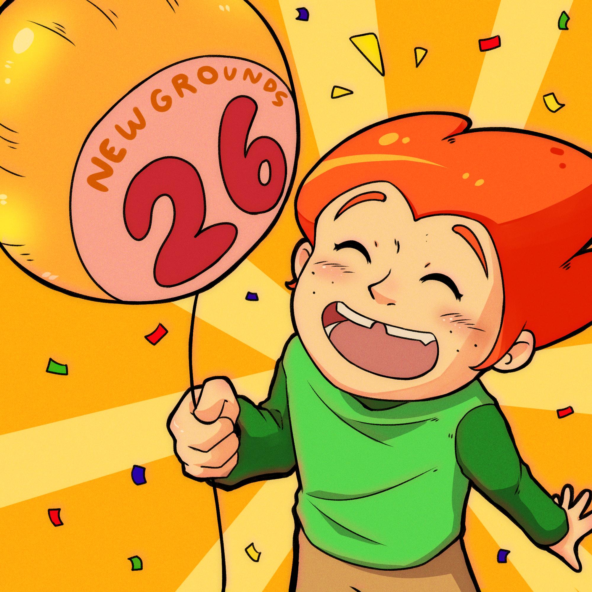 Happy Birthday Newgrounds!