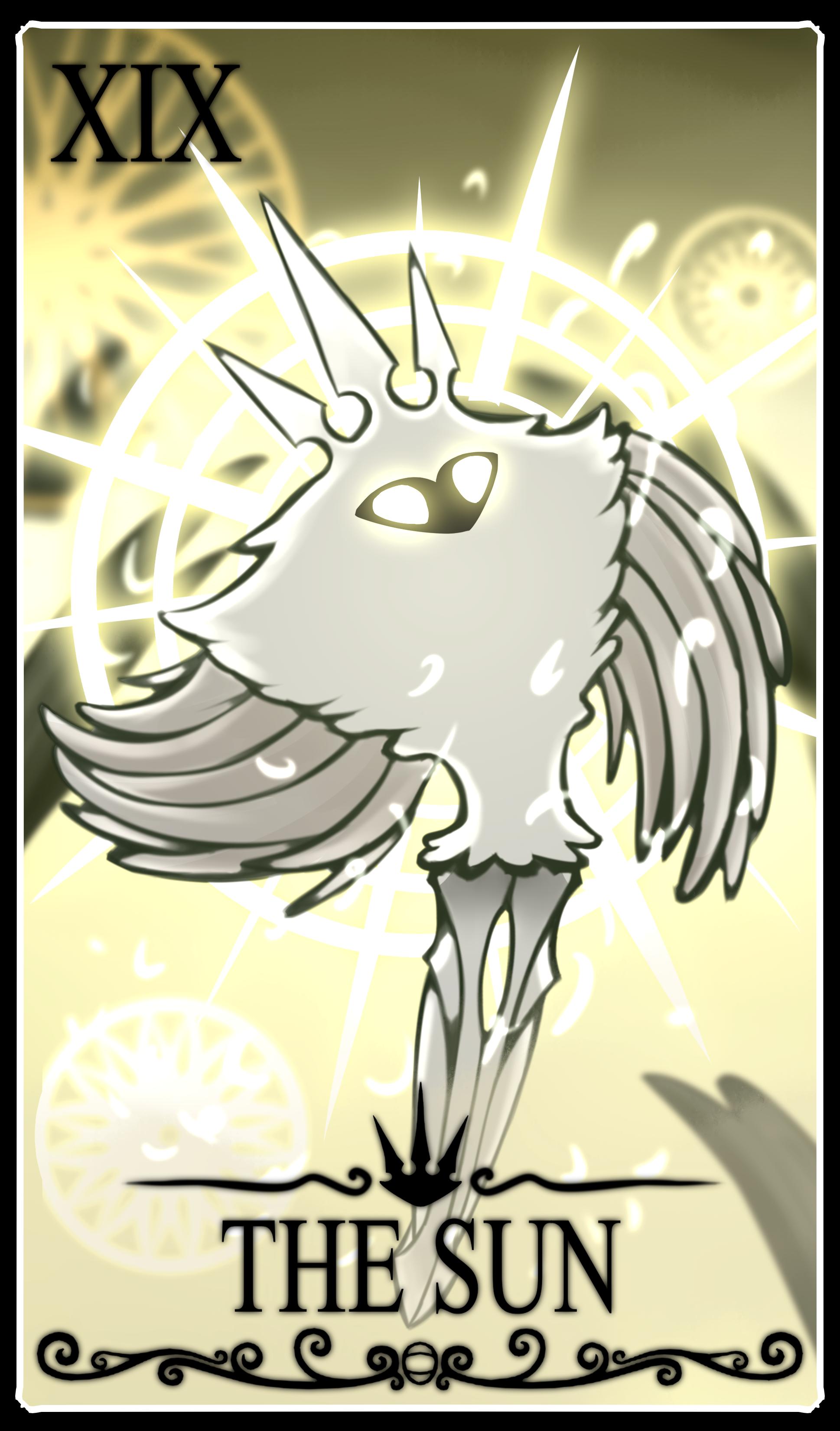 Hollow knight Tarot Card: The Sun