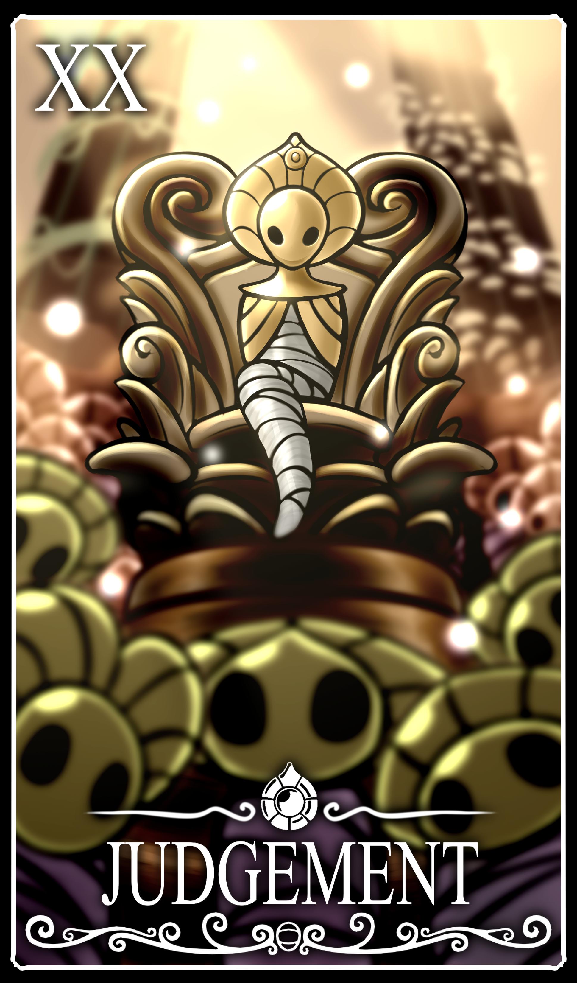 Hollow knight Tarot Card: Judgement
