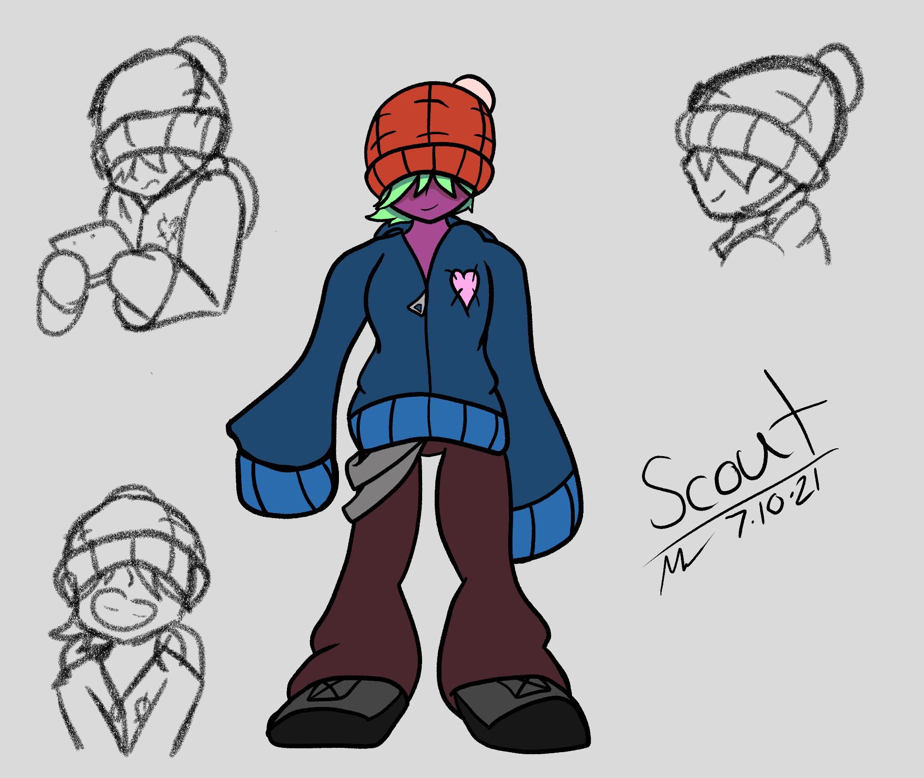 Scout Ref Sheet