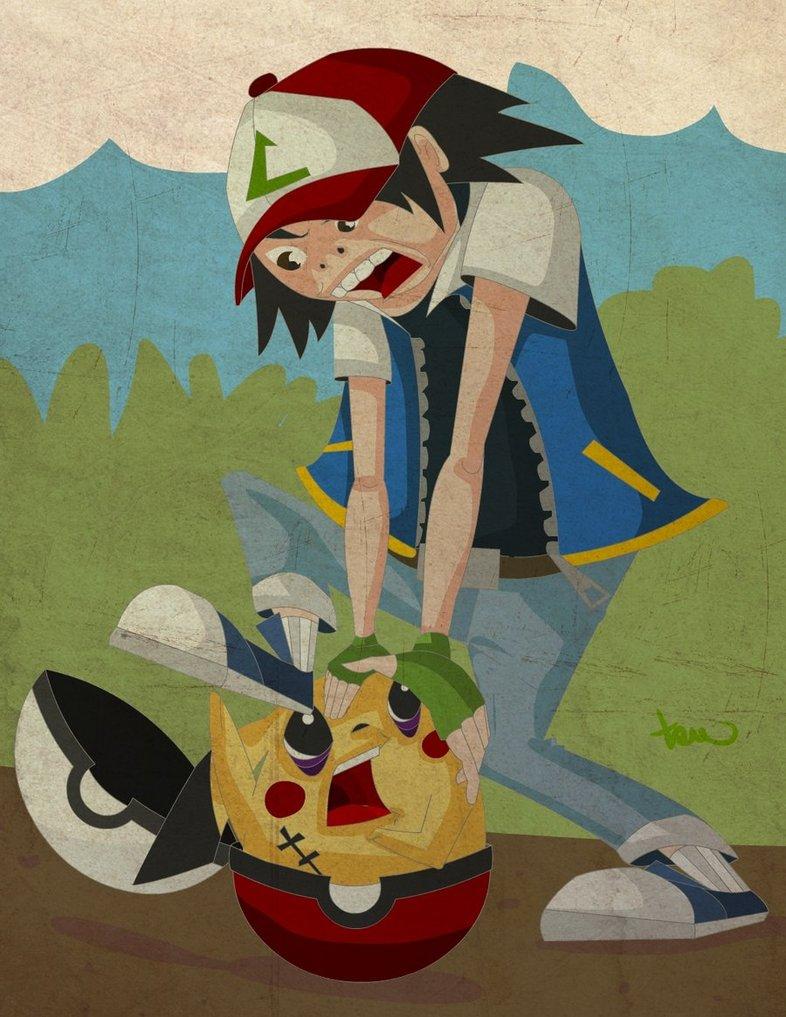 Pikachu! Get in!
