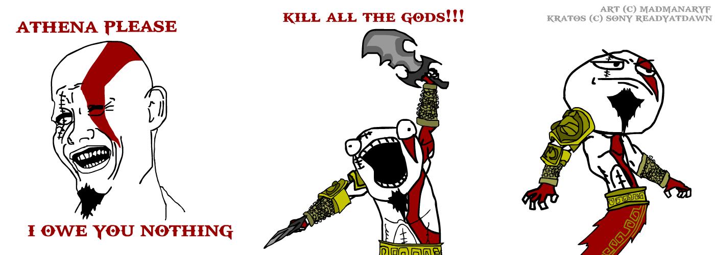 Kratos memes