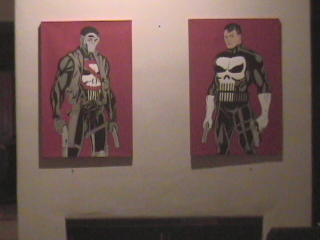 Punisher & Payback paintings