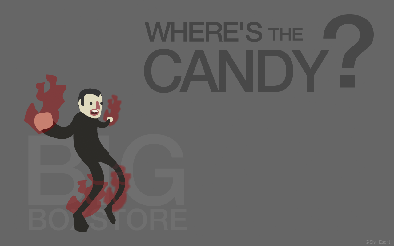 Where's the candy?