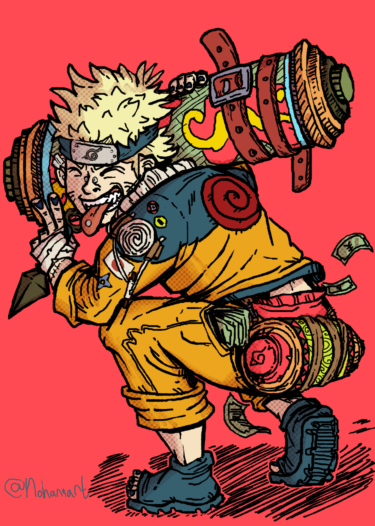 Naruto from Naruto