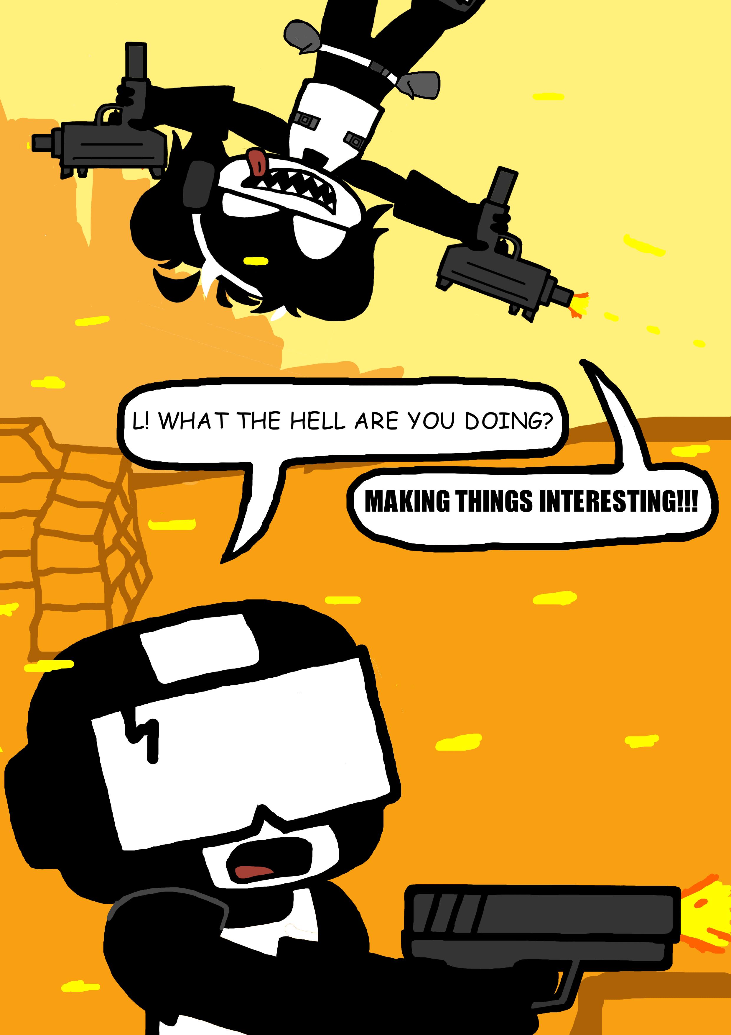 Tankmen in a mission