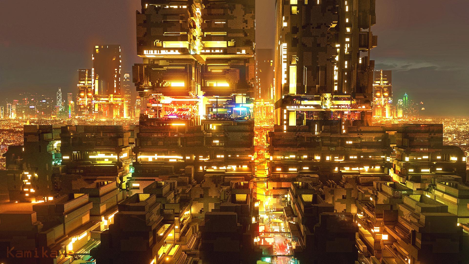 Voxel Block City