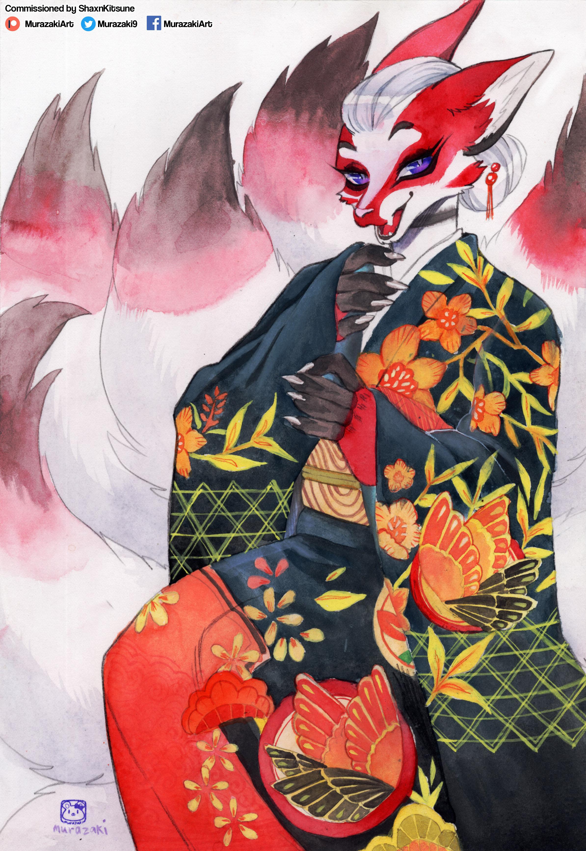 Commission : ShaxnKitsune