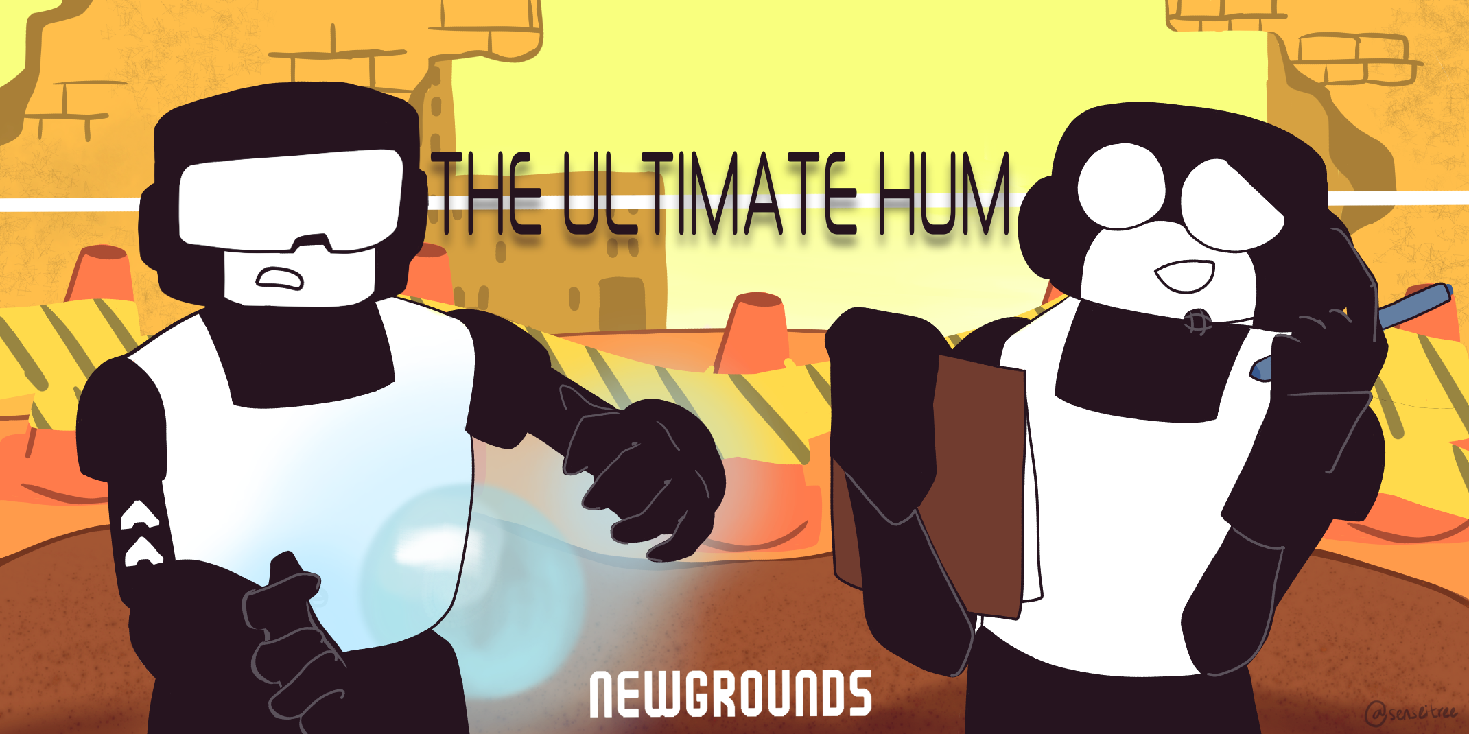 banner i made for the ultimate hum