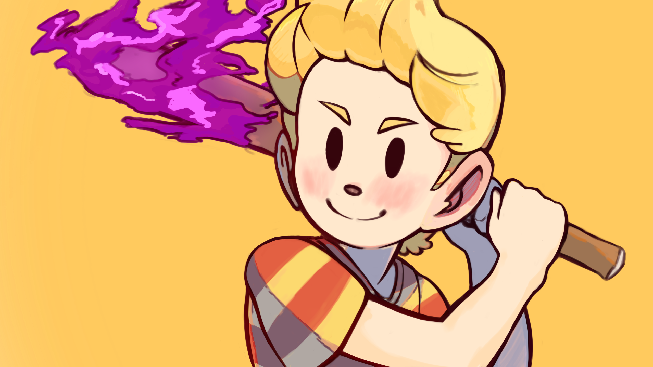 Mother 3 Thumbnail Art Comission