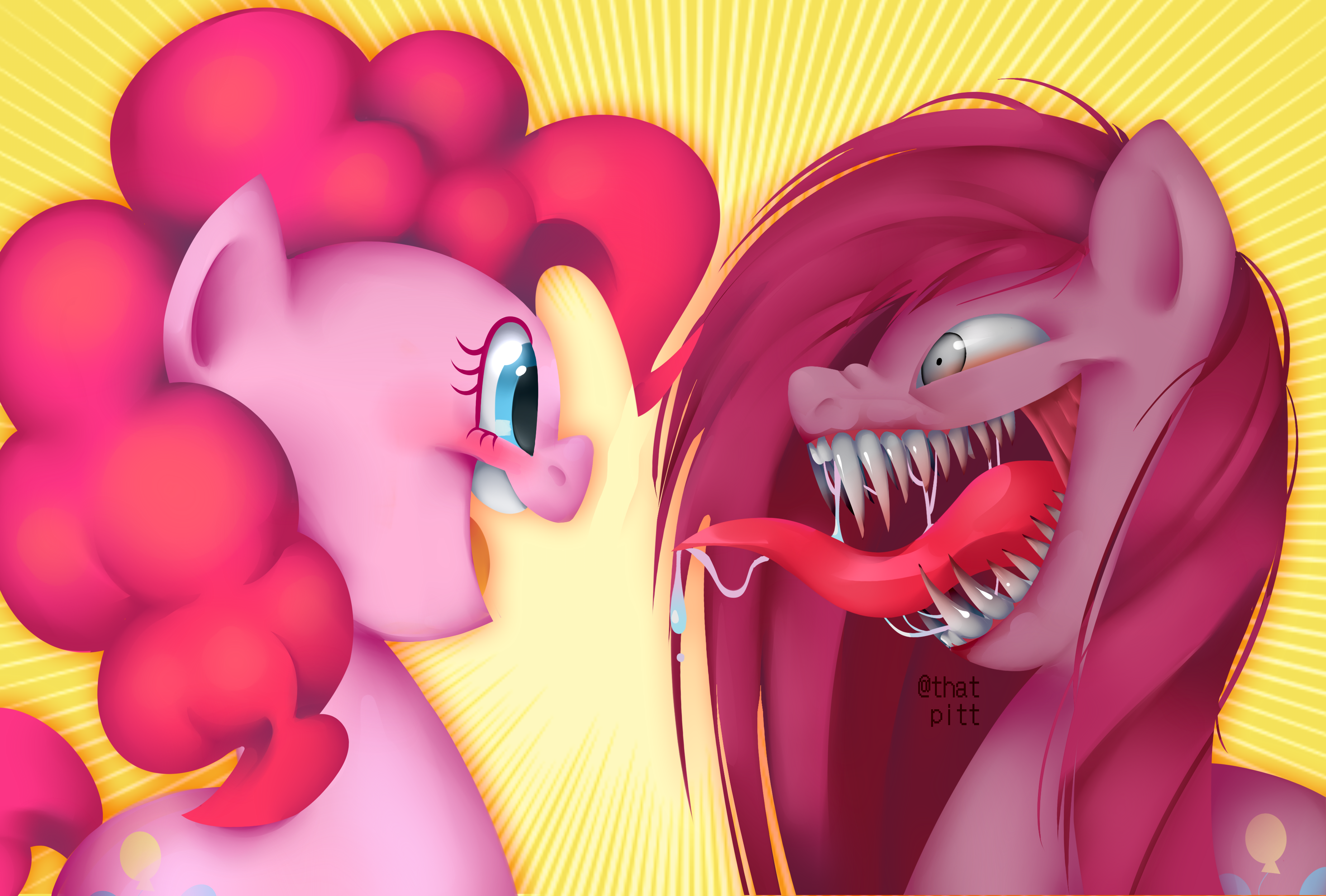 a cute Pinky Pie drawing